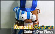 Props- Kumashi Costume from One Piece