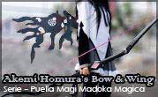 Puella Magi Madoka Magica – Akemi Homura's Bow & Black Wing